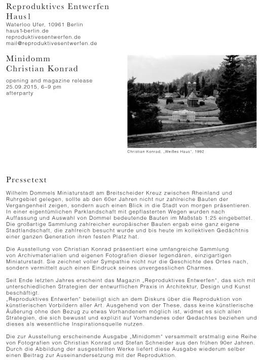 MinidommPressetext