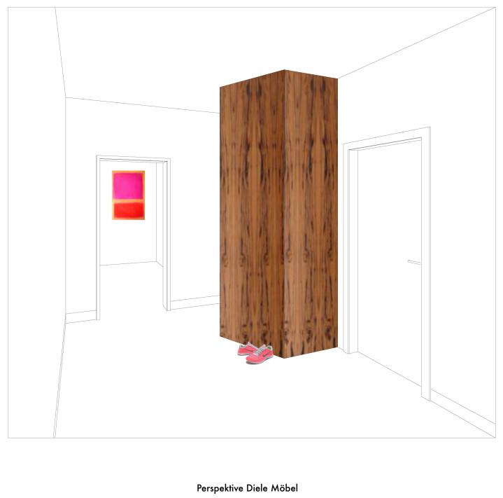 Perspektive Diele Möbel